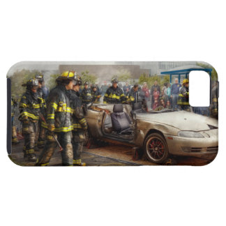 Firemen - The fire demonstration iPhone 5 Case
