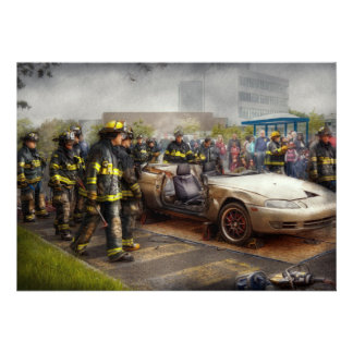 Firemen - The fire demonstration Personalized Announcement