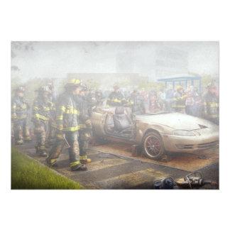 Firemen - The fire demonstration Custom Announcements