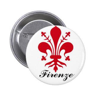 Firenze 6 Cm Round Badge