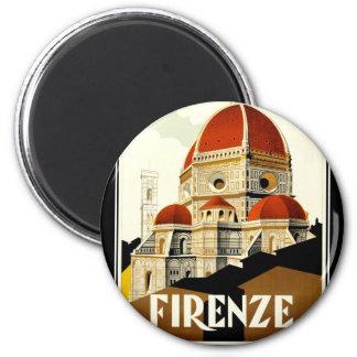 FIRENZE 6 CM ROUND MAGNET