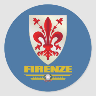 Firenze (Florence) Classic Round Sticker