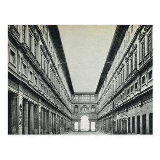 Firenze,Florence, Galleria Postcard