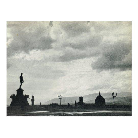 Firenze,Florence, Piazzale Michelangelo Postcard