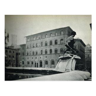 Firenze,Florence, Place de la Seingeurie Postcard
