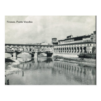 Firenze,Florence,   Ponte Vecchio Postcard
