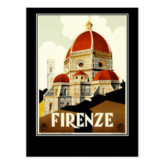 Firenze Italy Postcard