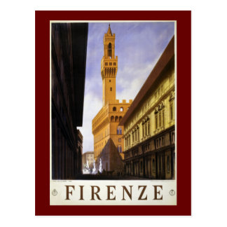 Firenze Postcard