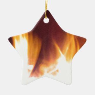 firepit dancing flames christmas ornament