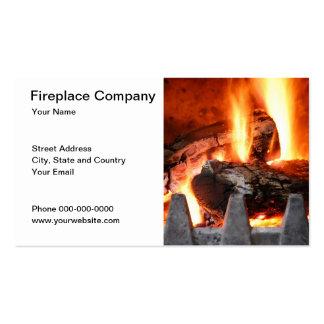 Fireplace Company Business Card