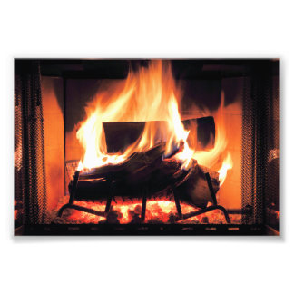 Fireplace Print Photographic Print