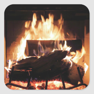 Fireplace Stickers