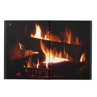 Fireplace Warm Winter Scene Photography Powis iPad Air 2 Case