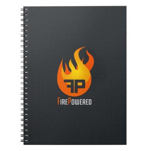 FirePowered Logo Notebook Note Book
