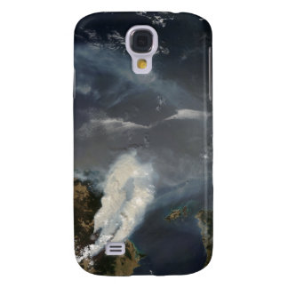Fires and smoke in southeast Australia Galaxy S4 Case