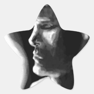 Fire's Eyes Star Sticker