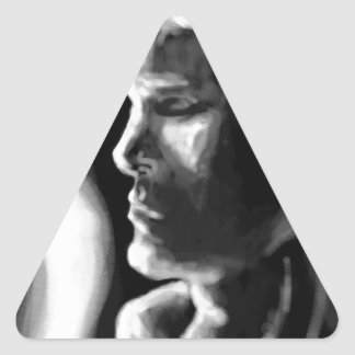 Fire's Eyes Triangle Sticker