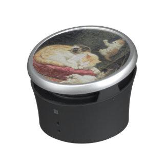Fireside Bliss (oil on panel) Speaker