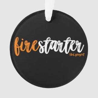 firestarter ornament