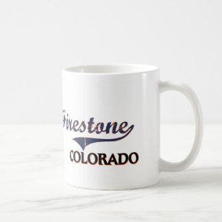Firestone Colorado City Classic Basic White Mug