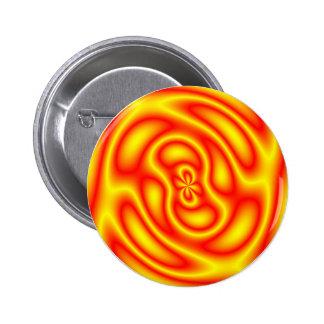 Firestorm 6 Cm Round Badge