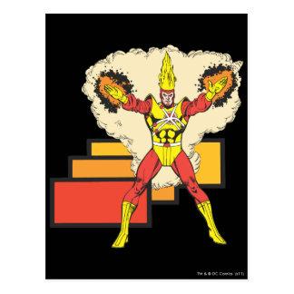Firestorm In His Element Postcard