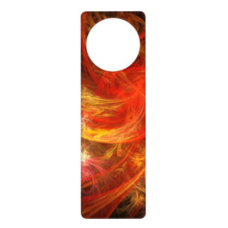 Firestorm Nova Abstract Art Door Hanger