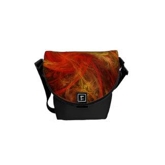 Firestorm Nova Abstract Art Mini Bag Commuter Bags