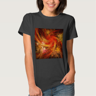Firestorm Nova Abstract Art T-Shirt