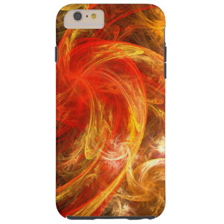 Firestorm Nova Abstract Art Tough iPhone 6 Plus Case