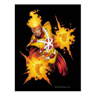 Firestorm Punch Postcard