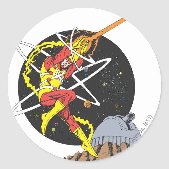 Firestorm - The Nuclear Man Classic Round Sticker