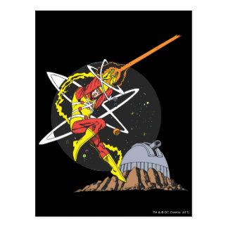 Firestorm - The Nuclear Man Postcard
