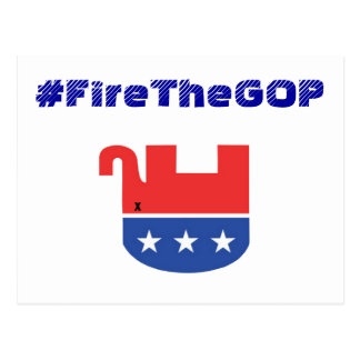 #FireTheGOP postcard