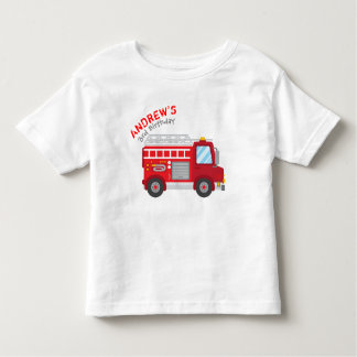 Firetruck Birthday T-shirt
