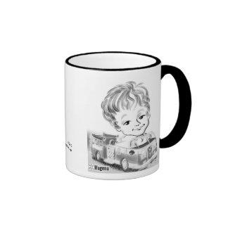 Firetruck Caricature Mug