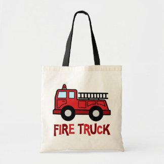Firetruck Tote Bag