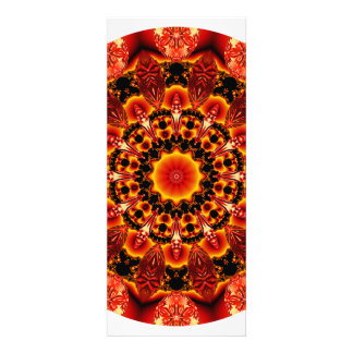 Firewalk Mandala Abstract Spiritual Quest Custom Invitation