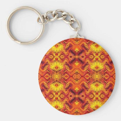 firewave basic round button key ring