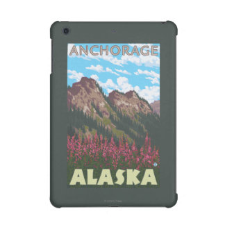 Fireweed & Mountains - Anchorage, Alaska iPad Mini Cover