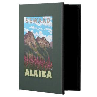Fireweed & Mountains - Seward, Alaska iPad Air Cases
