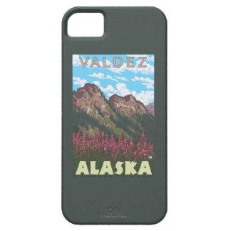 Fireweed & Mountains - Valdez, Alaska iPhone 5 Case