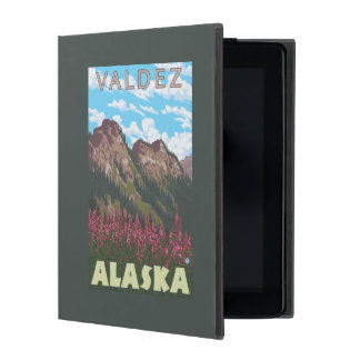 Fireweed & Mountains - Valdez, Alaska Covers For iPad