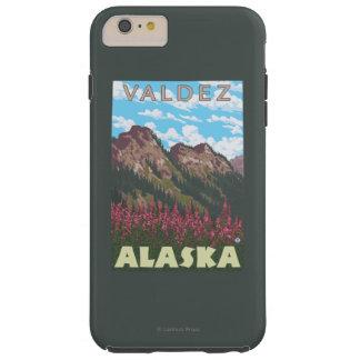 Fireweed & Mountains - Valdez, Alaska Tough iPhone 6 Plus Case