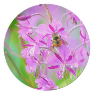 Fireweed plate