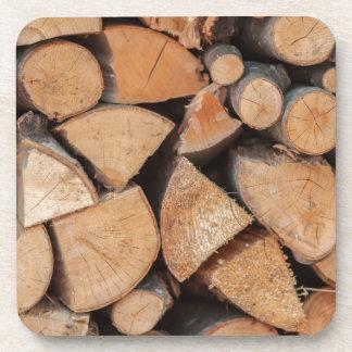 firewood coaster