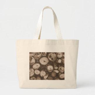 Firewood Jumbo Tote Bag
