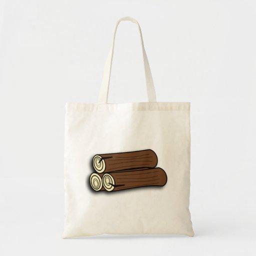 Firewood Logs Tote Bag
