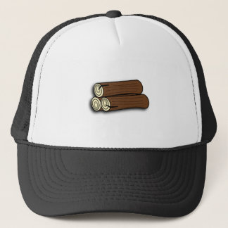 Firewood Logs Trucker Hat
