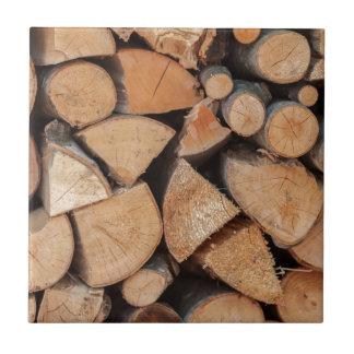 firewood tile